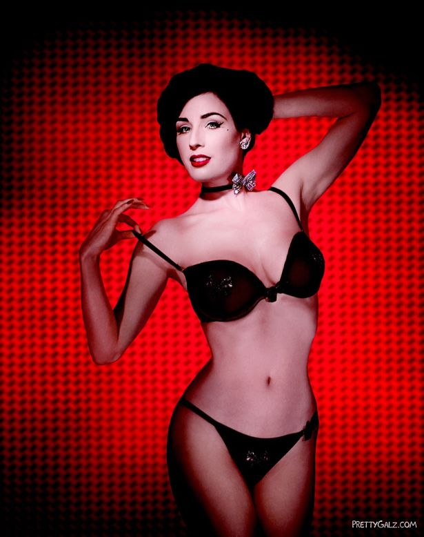 Dita Von Teese for Wonderbra