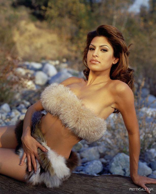 Sexy Eva Mendes Photoshoot