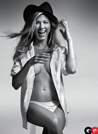 Jennifer Aniston Posing For GQ
