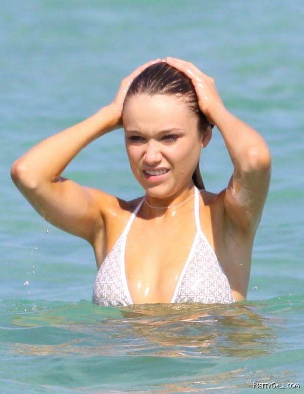 Katrina Bowden Enjoying in Bikini