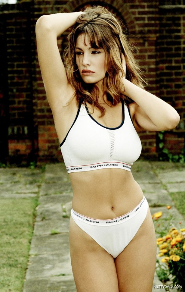 Sexy Kelly Brook for Ralph Lauren