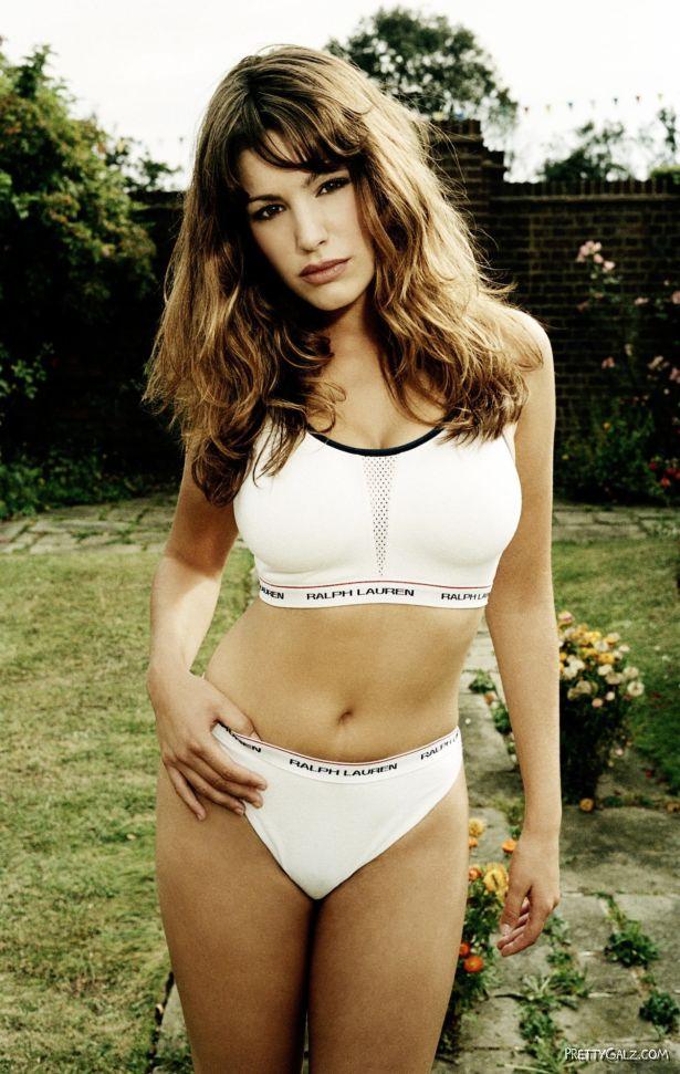 Sexy Kelly Brook for Ralph Lauren