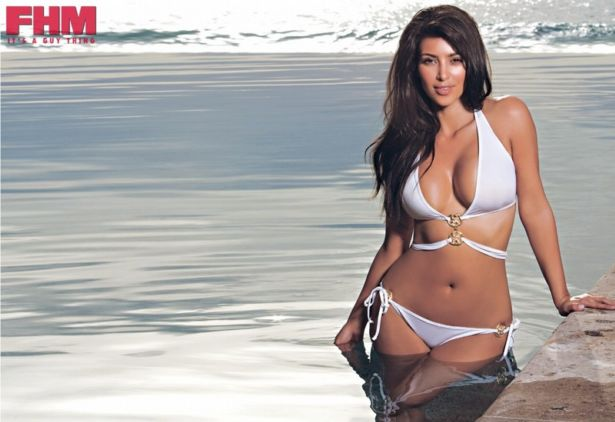 Miss Kardashian for FHM South Africa