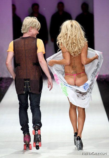 Sexy Pam Anderson Fashion Line