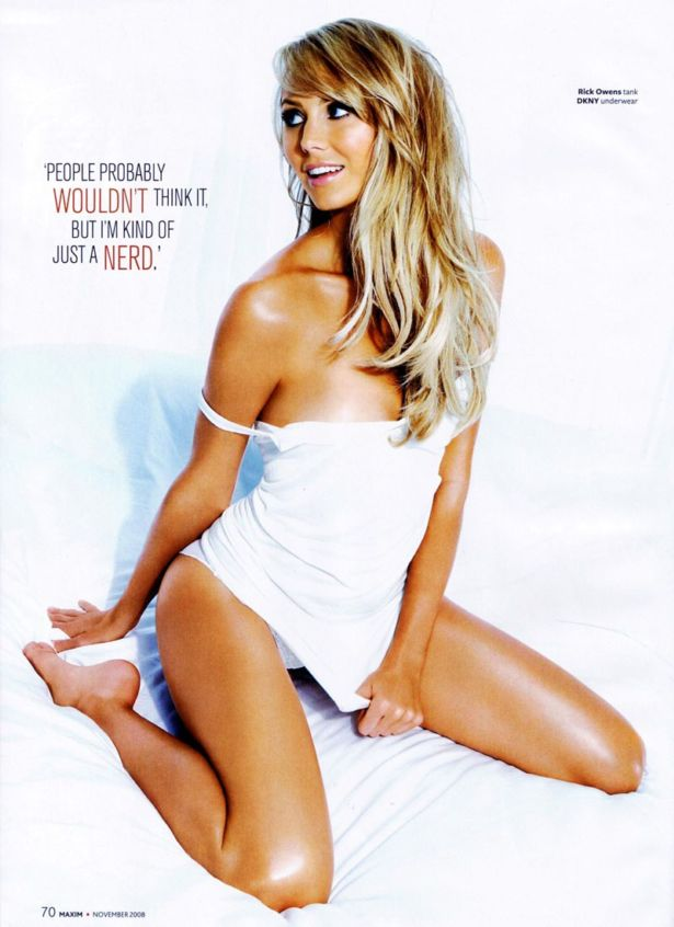 Stacy Keibler Exclusive Maxim Photos