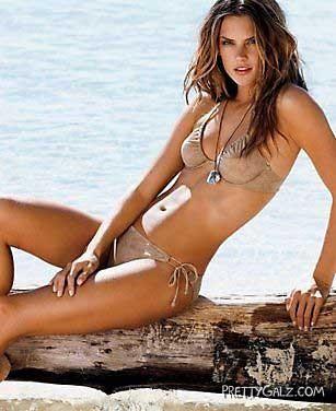 Awesome Alessandra Ambrosio Bikini Shoot