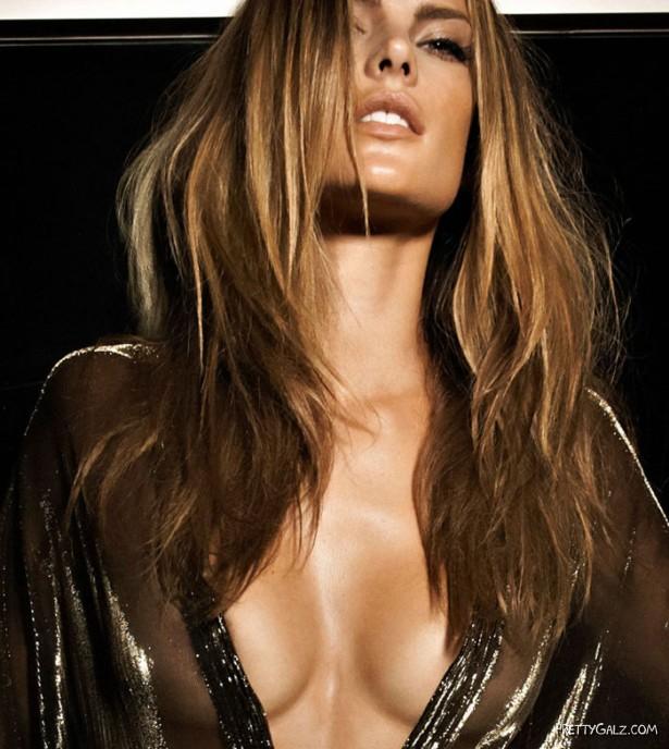 Alessandra Ambrosio Heats Up Vogue
