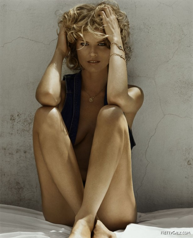 Eva Herzigova for GQ Italy