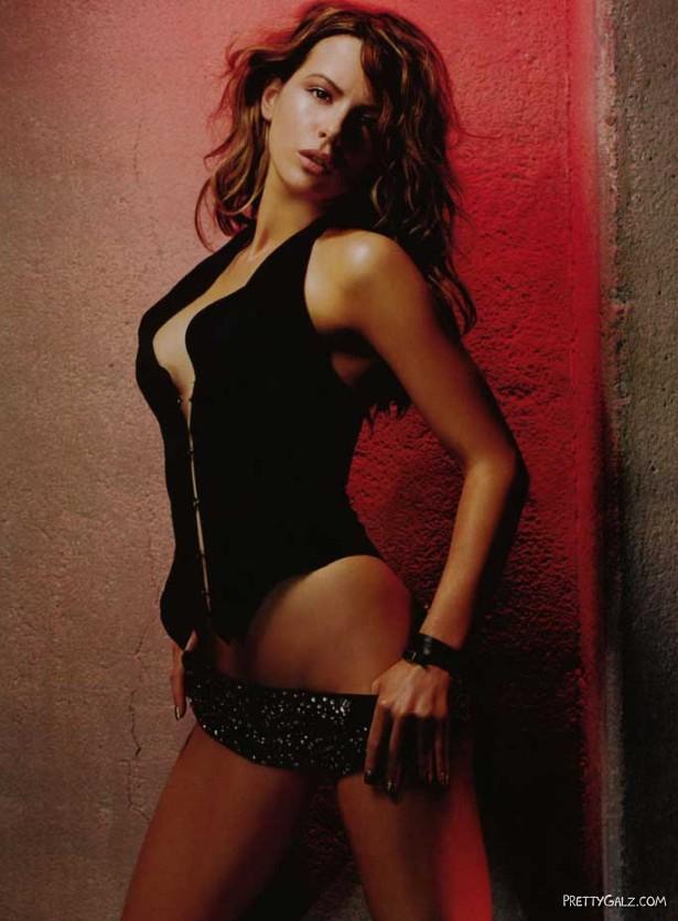 Kate Beckinsale Posing for GQ