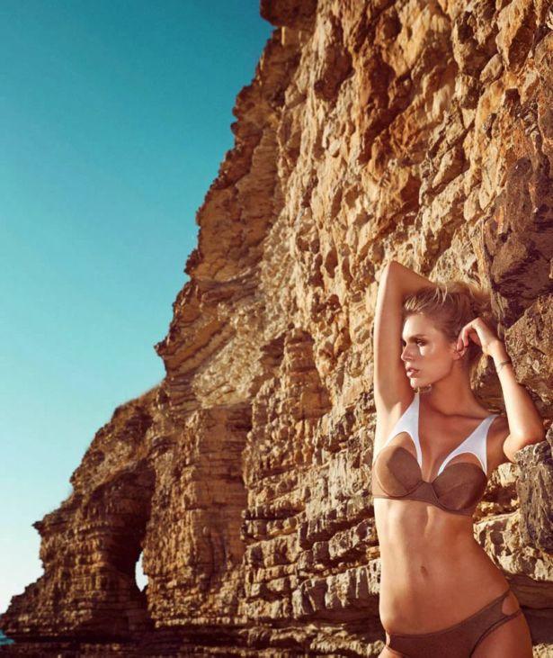 Dutch Fashion Model Fabienne Hagedorn