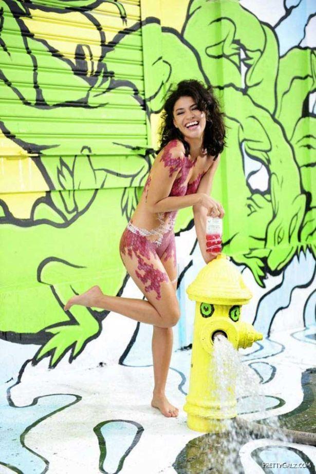 Jessica Szohr Advertising Beverage SoBe
