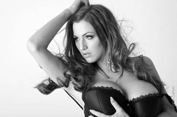 German Glamour Model Jordan Carver