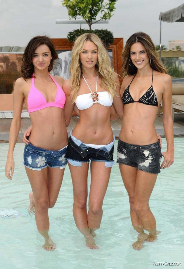 Victoria's Secret Pool Party