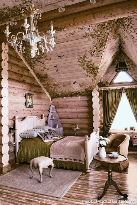 Beautiful Siberian Tale Country House