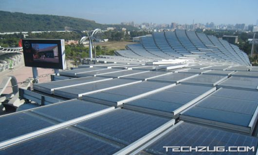 Worlds First Solar Powered Stadium