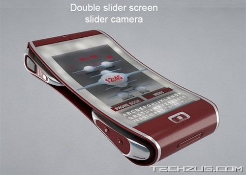 Bend Mobile Technology Concept'