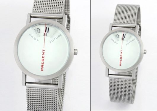 Past Present Future Watch Design'